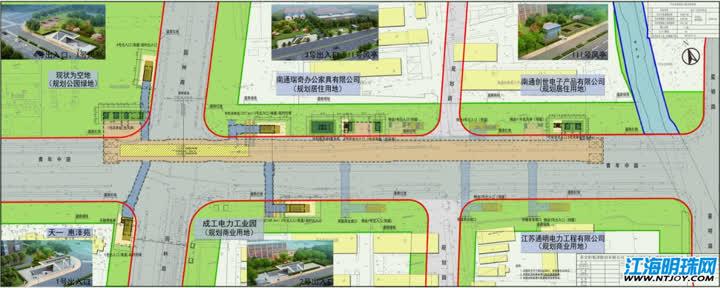 南通轨交2号线一期工程园林路站(暂定名)方案规划公示
